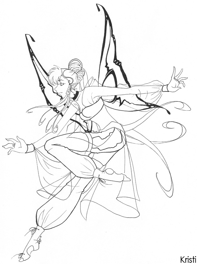 gypsy coloring pages | gypsy fairy by dreamangelkristi on DeviantArt
