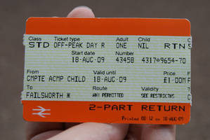 Lost Ticket Of Oldham