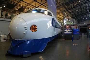 Shinkansen Bullet Train by robertbeardwell