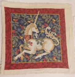 Unicorn Tapestry Cross Stitch