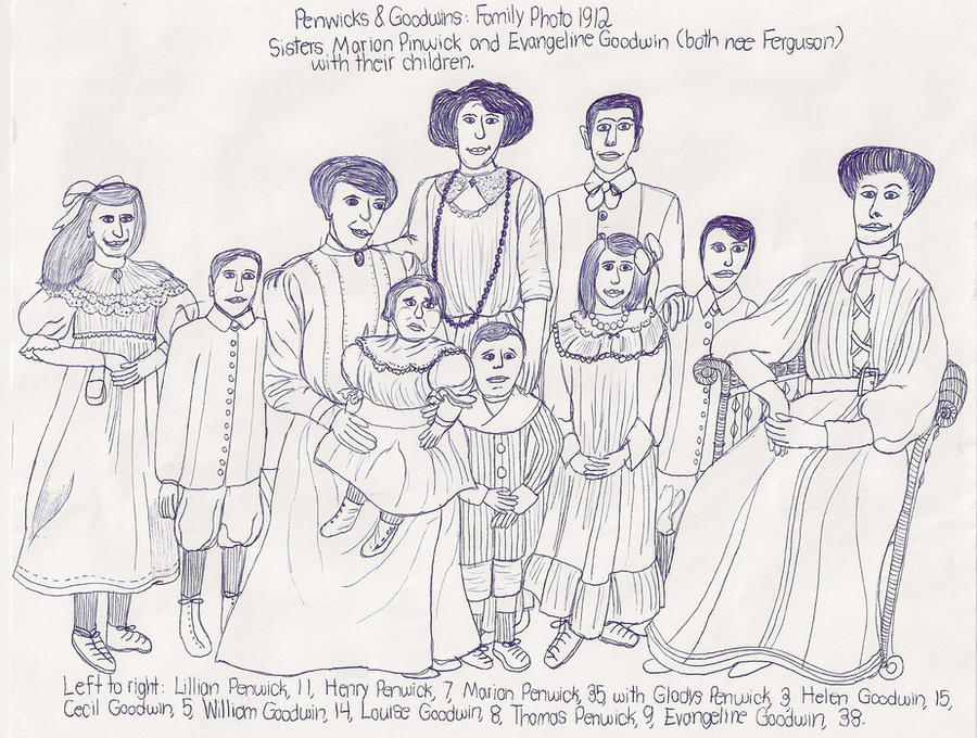 Extended Family Drawing