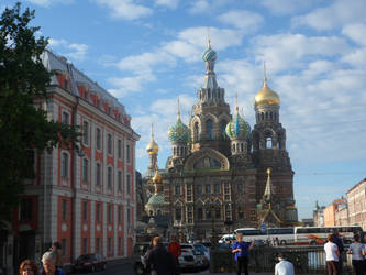 Church of Our Savior on the Spilled Blood by Obiwanlives4ever