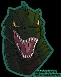 Godzilla by YGOdemoron