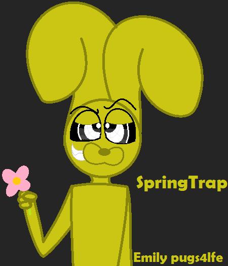 Springtrap by pugs4lfe on deviantart