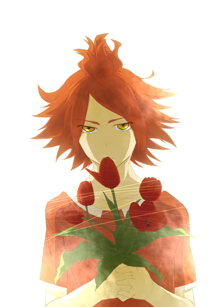 Red Tulip by CATGIRL0926