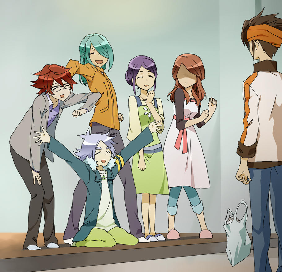 Welcome home, Endou by CATGIRL0926