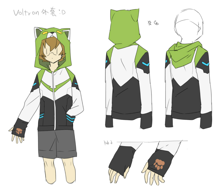 Voltron jacket by CATGIRL0926 on DeviantArt