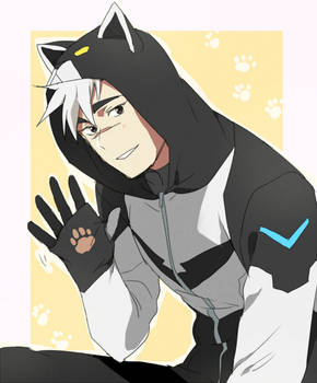 Voltron jacket Shiro ver.