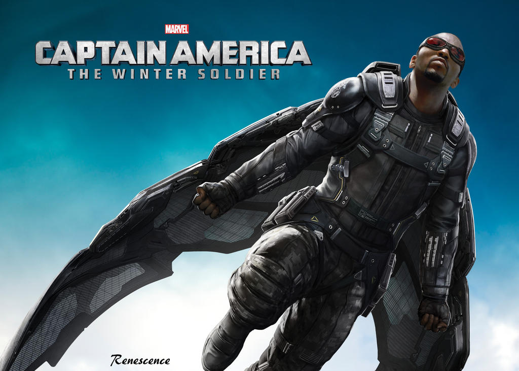 Falcon - Captain America Winter Soldier by JuDe21000 on ...