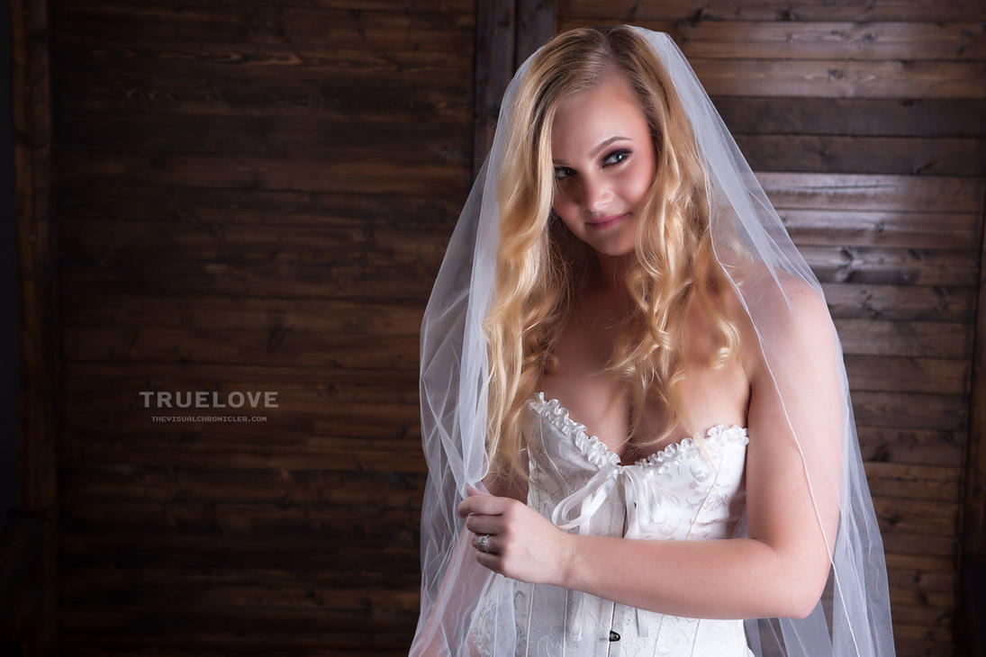 Studio Bridal Boudoir by thevisualchronicler