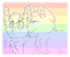 pride month just got a lot gayer .:Personal:. by Icedog-McMuffin