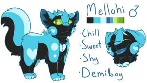 Mellohi Ref (Secondary Sona) by Icedog-McMuffin