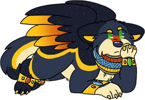 Horus .:CM:. by Icedog-McMuffin