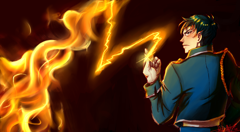 The Flame Alchemist by waveoftheocean