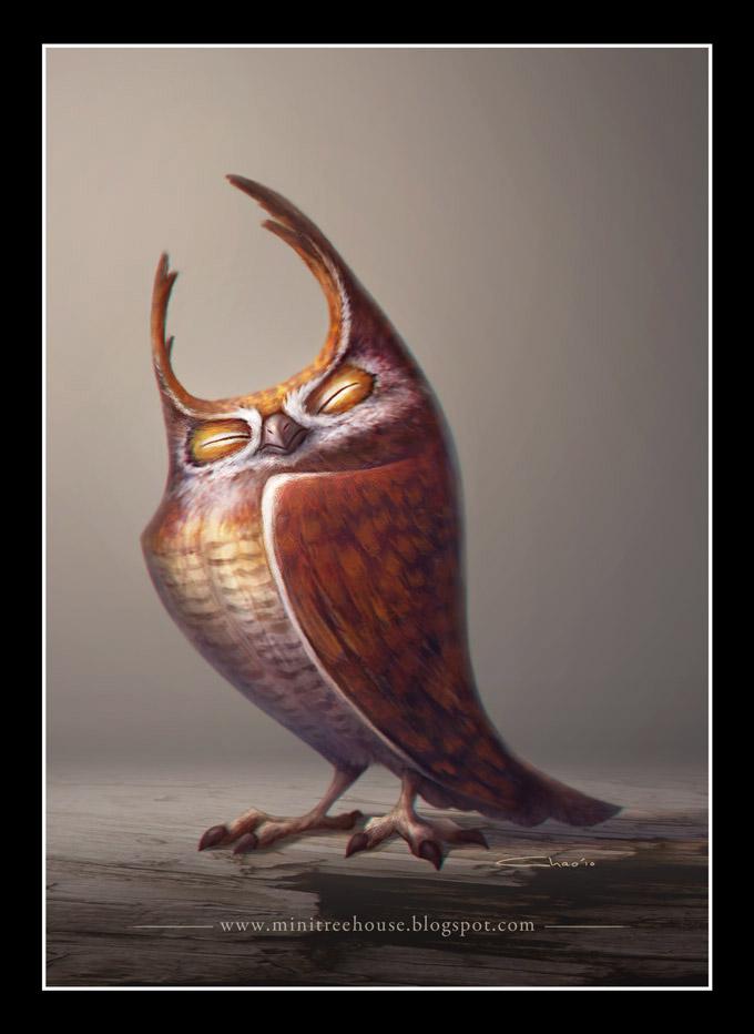A Proud Owl