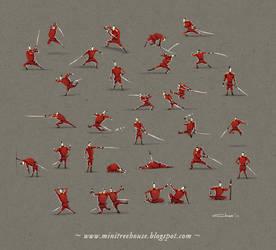 Liliput Warriors by minitreehouse