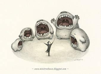 Big Mouth Symphony by minitreehouse