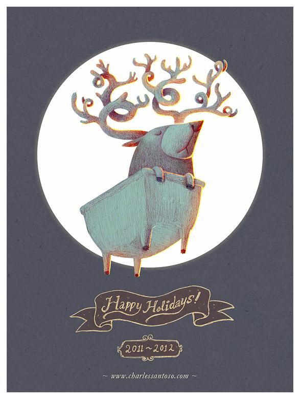 Happy Holidays by minitreehouse