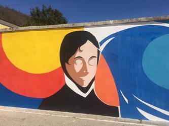 Murales - Murialdo, la vita e i valori by daliarts