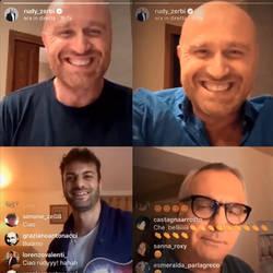 Live Instagram | Antonio Dali con Rudy Zerbi
