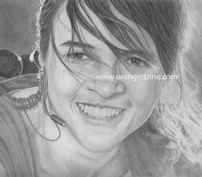Michelle Rodriguez (Fast and Furious) by perumoon
