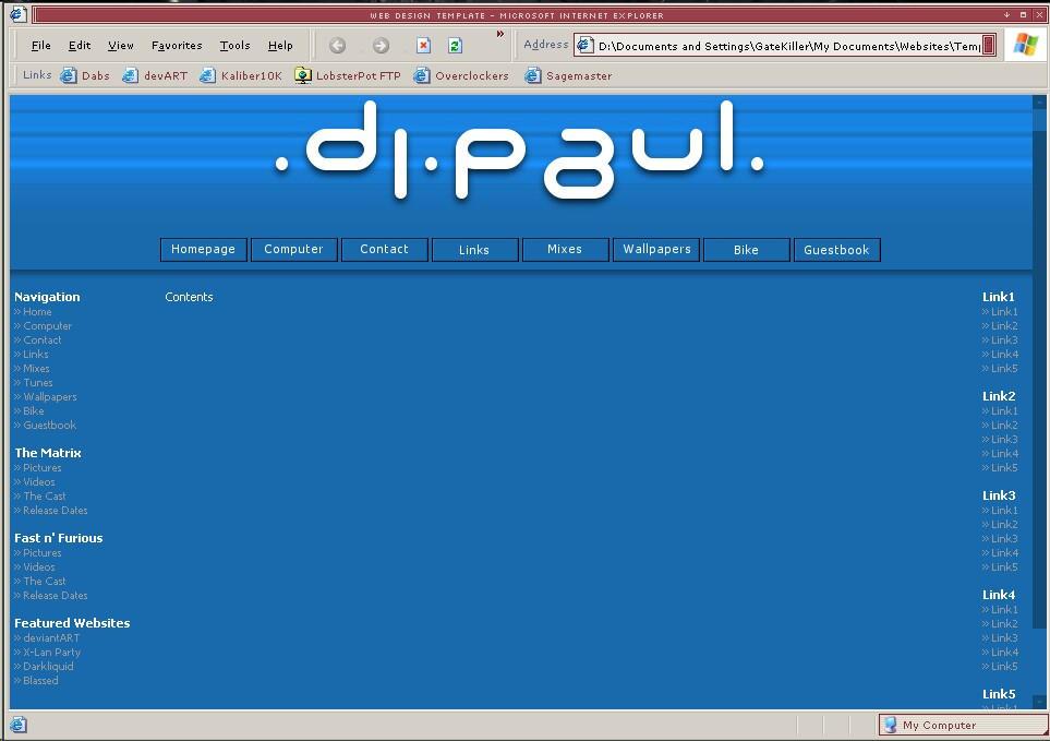.dj.paul.website by gatekiller