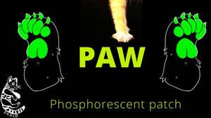Phosphorescent Paw patch - Kickstarter