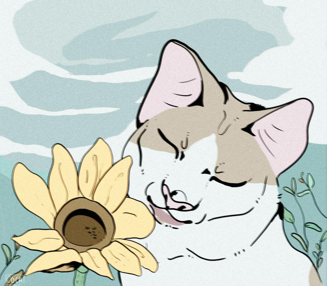 .:Dibujos de Nya:. - Página 2 Sunflower_by_nyotleo_ddp1b9d-fullview.jpg?token=eyJ0eXAiOiJKV1QiLCJhbGciOiJIUzI1NiJ9.eyJzdWIiOiJ1cm46YXBwOjdlMGQxODg5ODIyNjQzNzNhNWYwZDQxNWVhMGQyNmUwIiwiaXNzIjoidXJuOmFwcDo3ZTBkMTg4OTgyMjY0MzczYTVmMGQ0MTVlYTBkMjZlMCIsIm9iaiI6W1t7ImhlaWdodCI6Ijw9MTExOSIsInBhdGgiOiJcL2ZcLzU0NTliNzUzLWY3YzctNGQwNy1iYWYxLTJhZjllYzBkZjIyM1wvZGRwMWI5ZC04MmRiYjRiYi1jY2JmLTQzZjYtODViNi04MDViMjQ1YTc2OTEucG5nIiwid2lkdGgiOiI8PTEyODAifV1dLCJhdWQiOlsidXJuOnNlcnZpY2U6aW1hZ2Uub3BlcmF0aW9ucyJdfQ