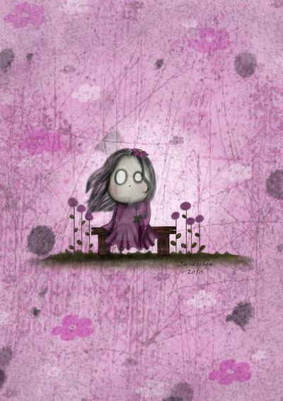 Specter spooky girls_spring by dubutterflydesign