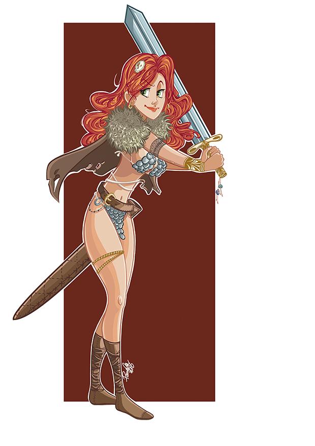 Red Sonja by raradat