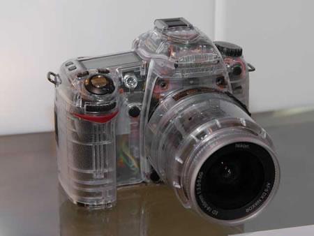 Transparent Nikon D80 by syairazi86