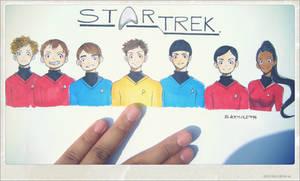STAR TREK 2009 by Blackhole994