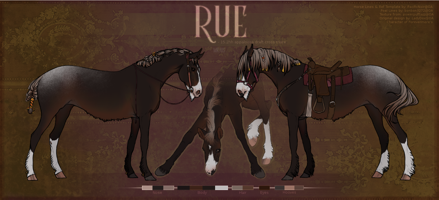 Rue's Adult Ref by TalinaRaine