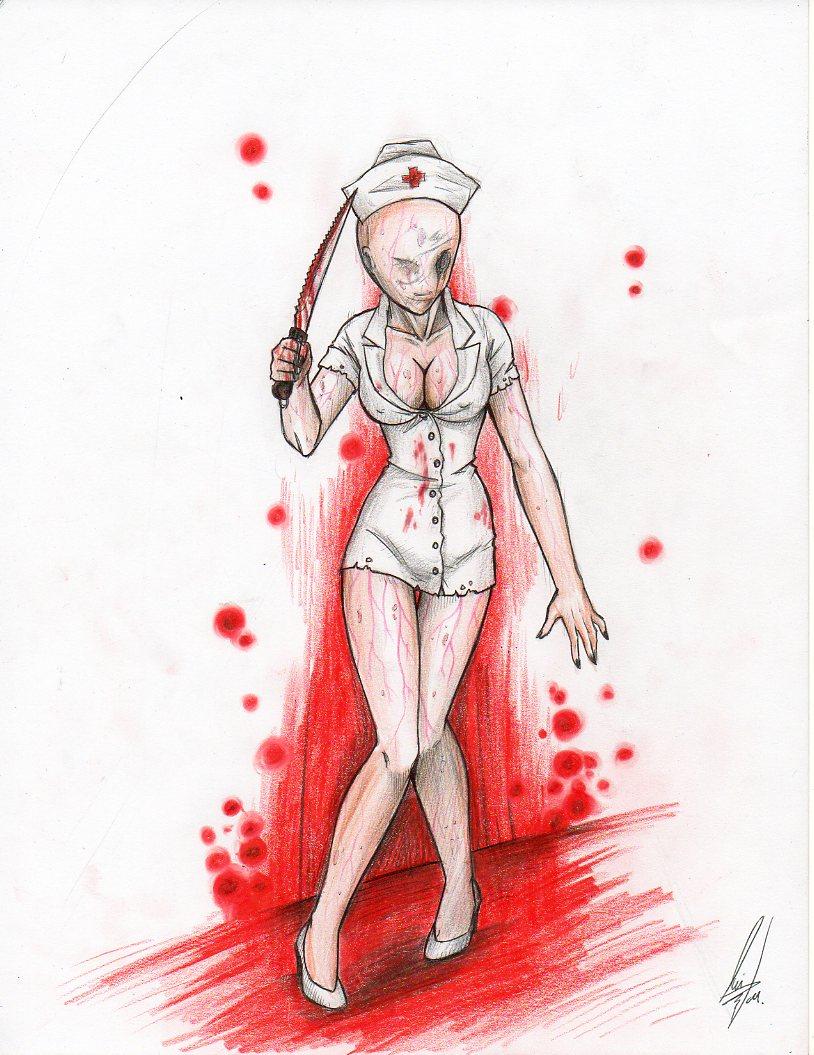 Silent Hill Nurse by LuCaMi5390 on DeviantArt