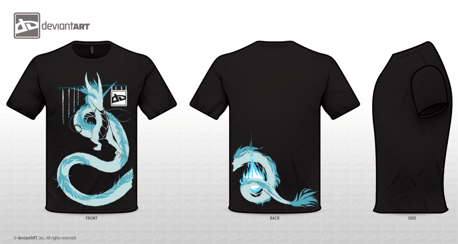Dragon shirt design by Capukat