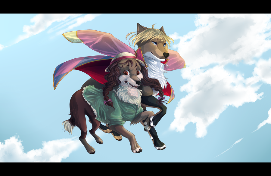 and howl fursonified -#main