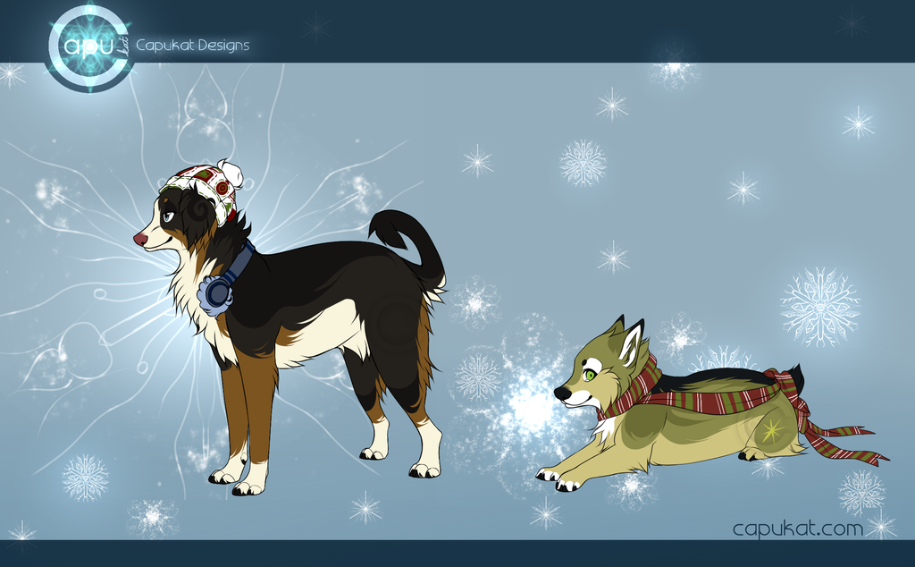 CLOSED- Capukat Winter Adoptables AUCTION by Capukat