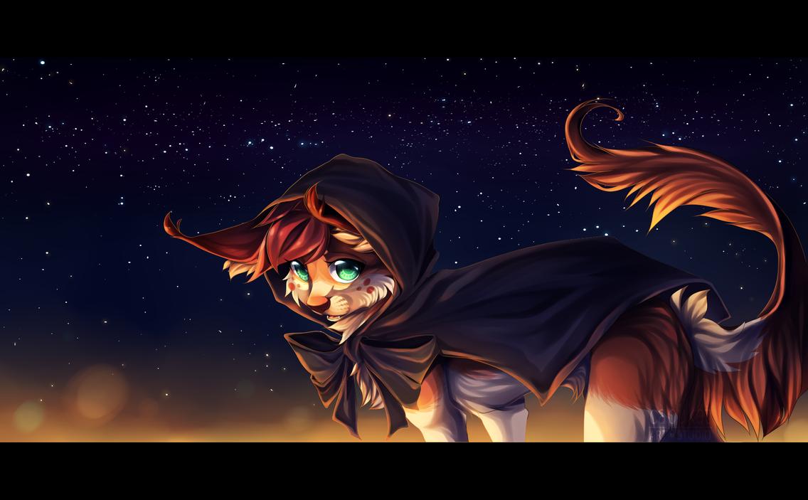 Night traveler by Capukat