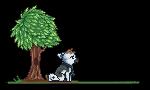 Pixel Pagie gift by Capukat