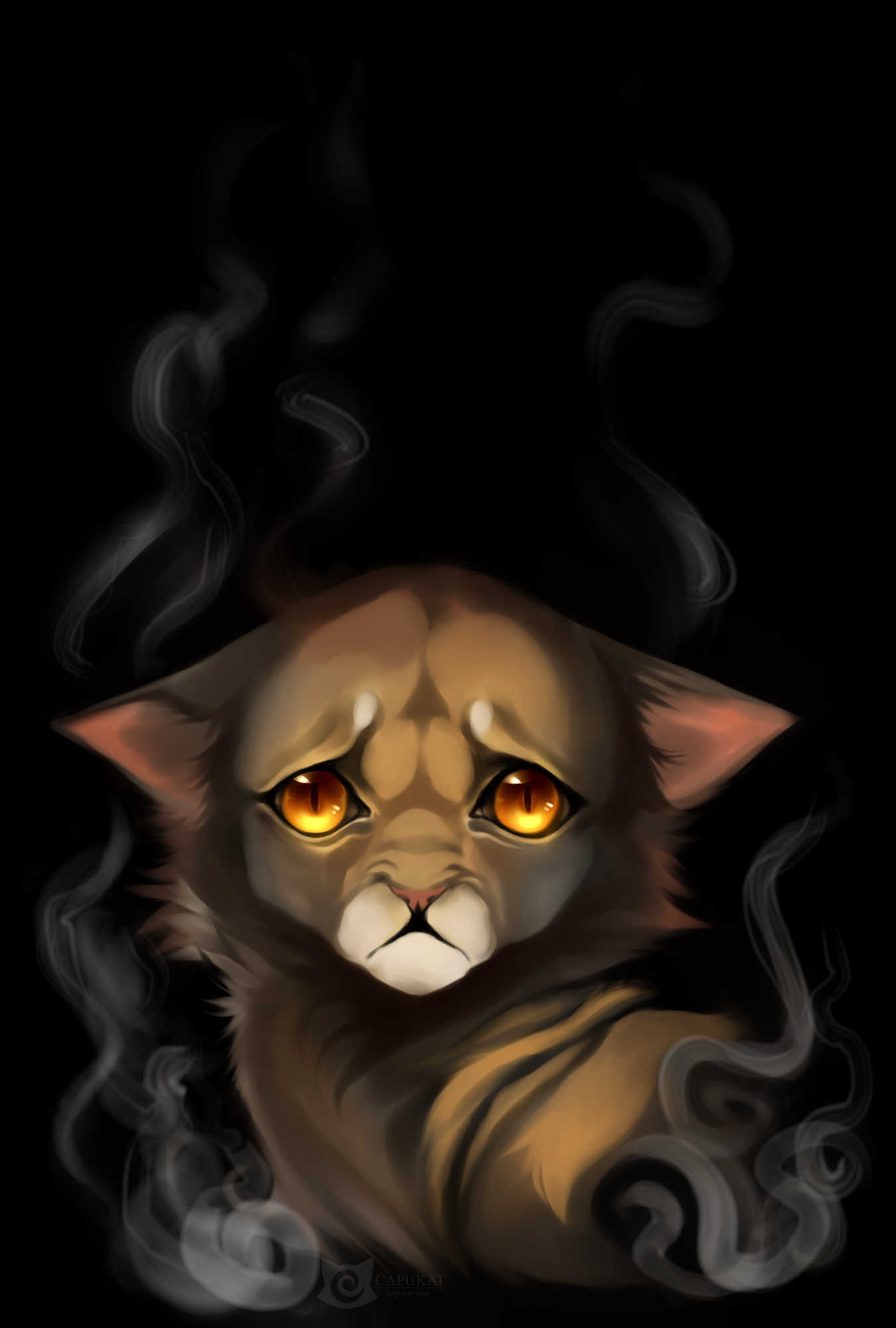Ever heard of Smokey the Kitty? by Capukat
