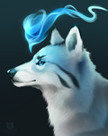 Evanescent Blue + SPEEDPAINT!