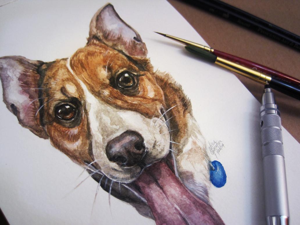 Pippin Portrait + SPEEDPAINT! by Capukat