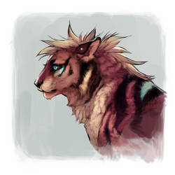 scruffy gal by Capukat