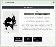 [ CB ] Monochrome by raionxdesu