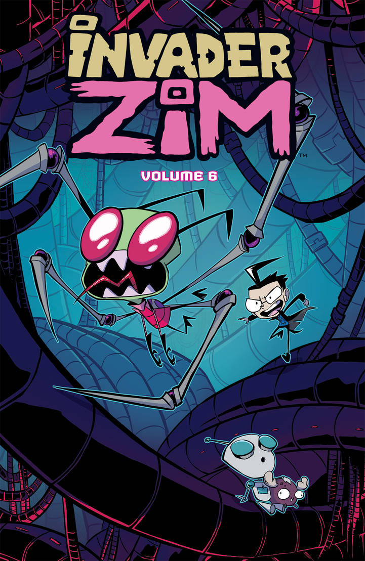 Invader ZIM Vol6 Variant Cover by DIN0LICH