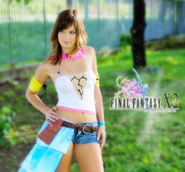 Final Fantasy X-2: Yuna by sasorinodannaun