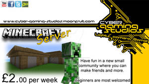 Minecraft Server coming soon.