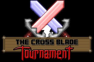 The Cross Blade Tournament(logo)! Minecraft!