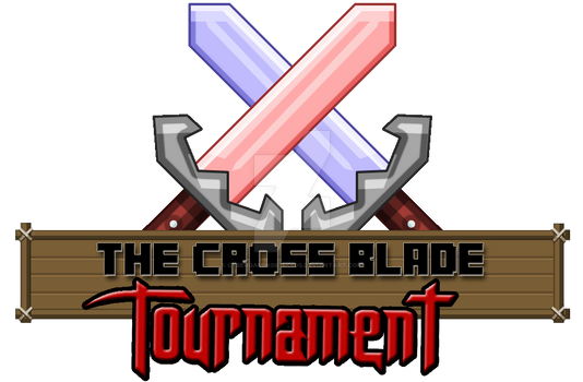 The Cross Blade Tournament(logo)! Minecraft!