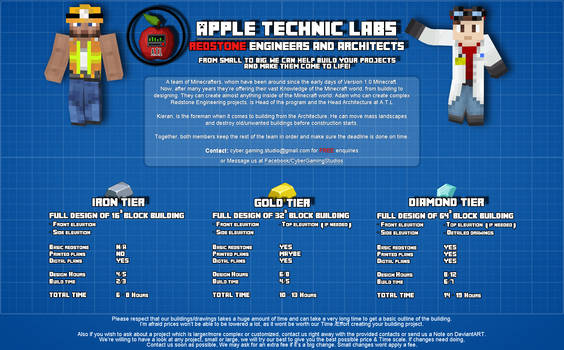 Apple Technic Labs |2014| OPEN FOR COMMISSIONS